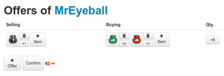 Trading Help | RealmEye com